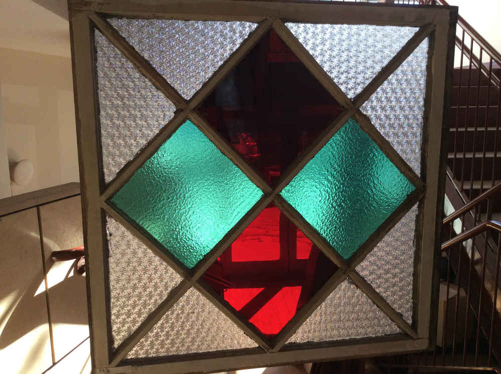 Cottage Style Privacy Glass Window
