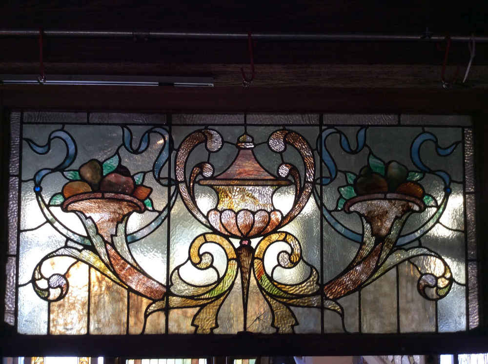 Rare Rudy Bros. Stained Glass Window
