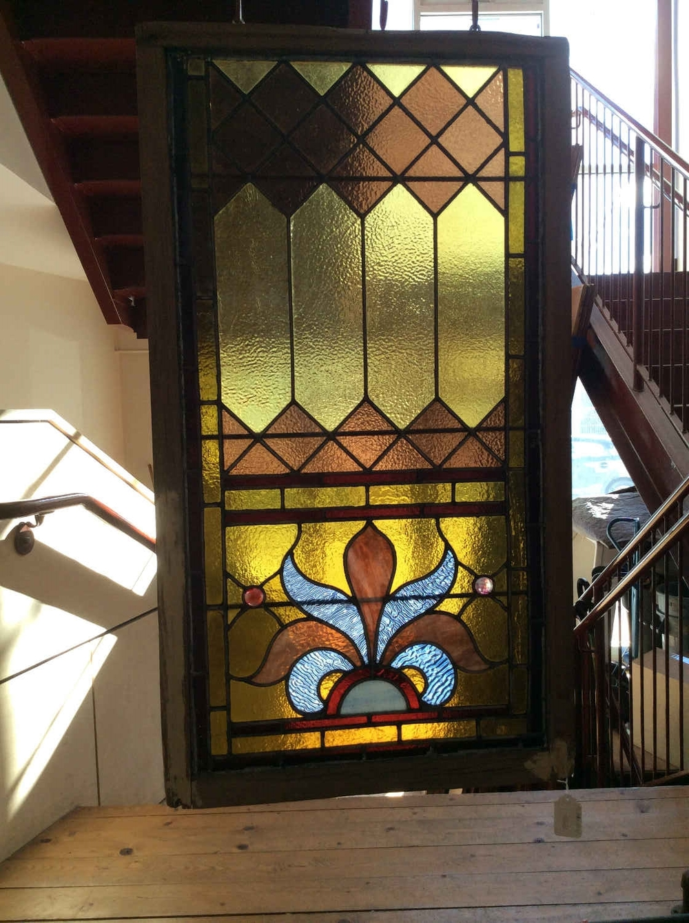 Victorian Stained Glass Window