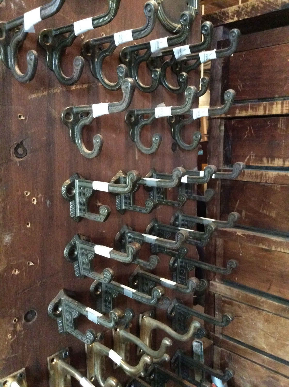 Antique Eastlake-Style Coat hooks
