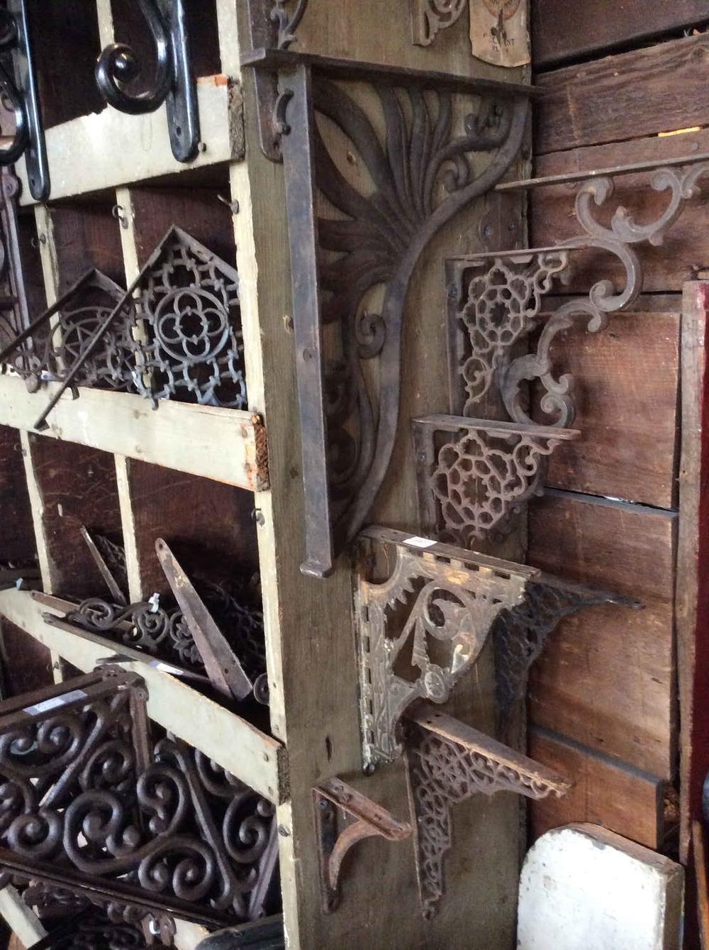 Antique & Modern Shelf Brackets