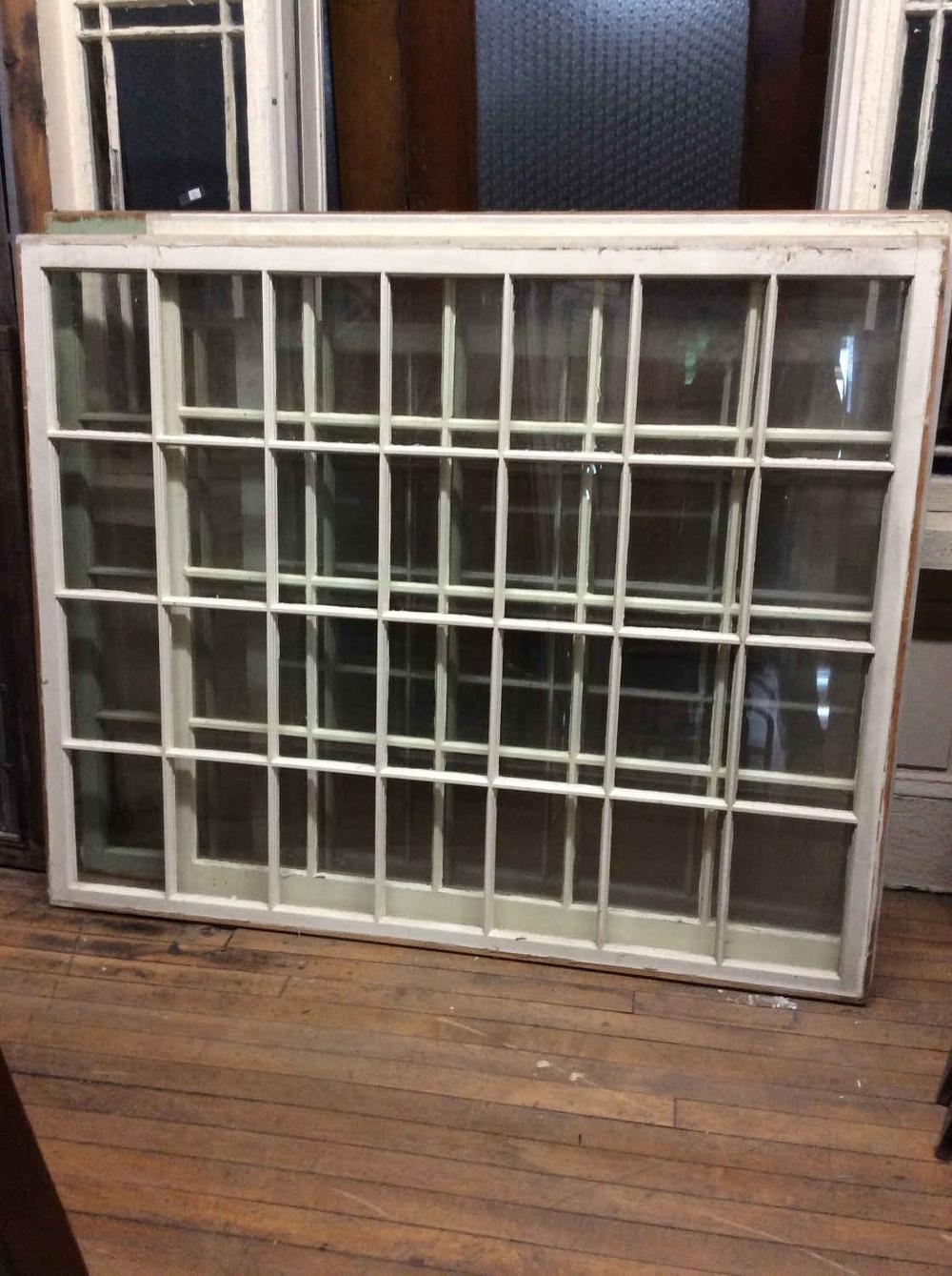 28-Pane Picture Window