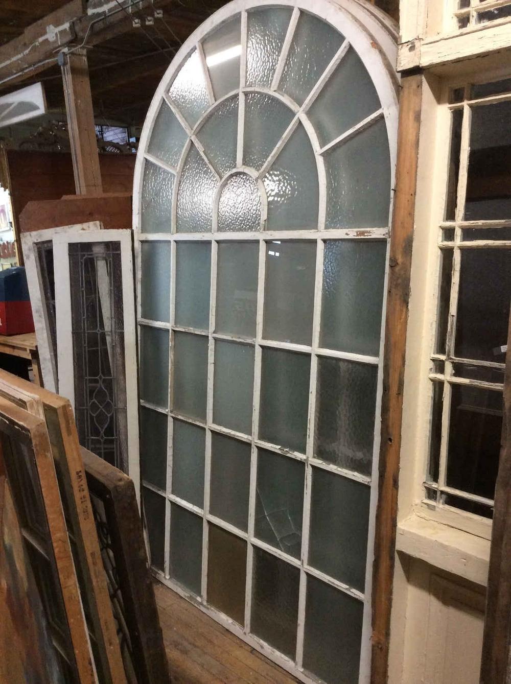 Oversized Palladium Windows with Privacy Glass