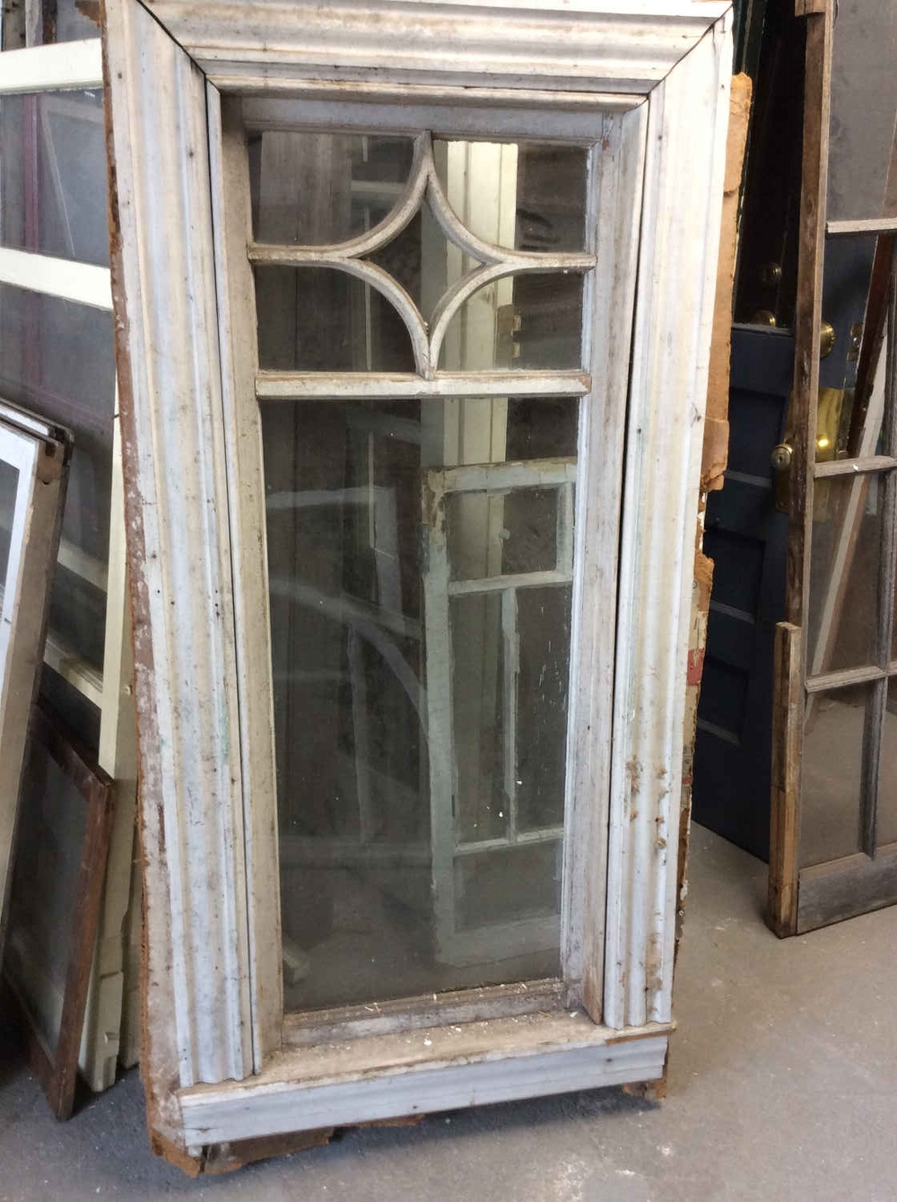 Queen Anne Style Stationary Window