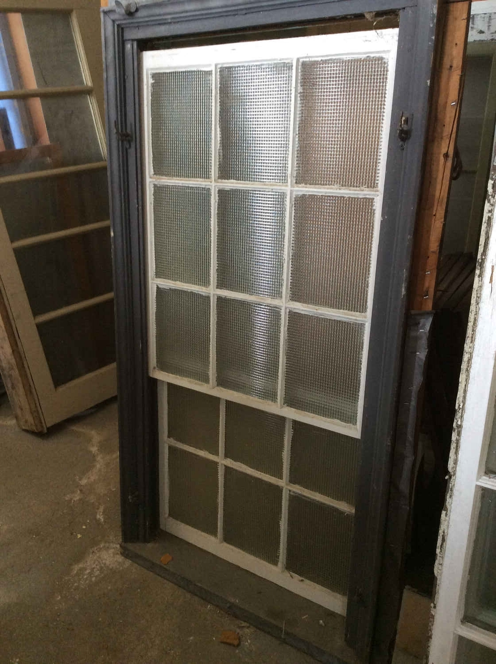 9-over-6 Privacy Glass Window