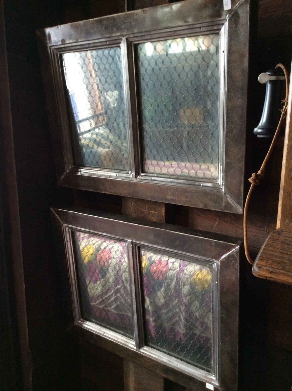 Antique Steel Window Frames