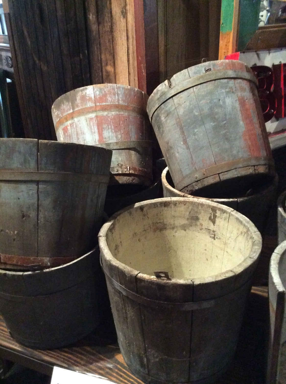 Antique Shaker Sap Buckets