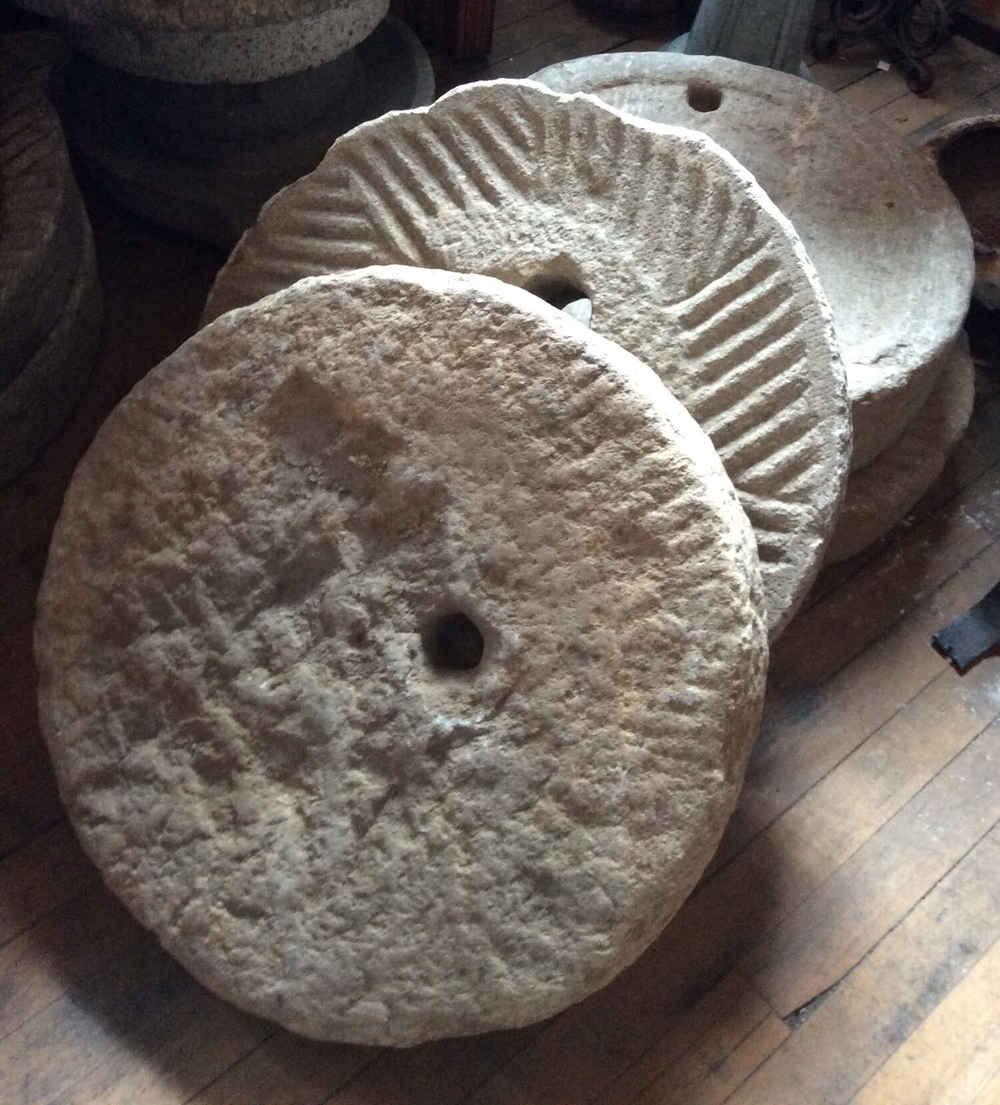 Antique Mill Stones