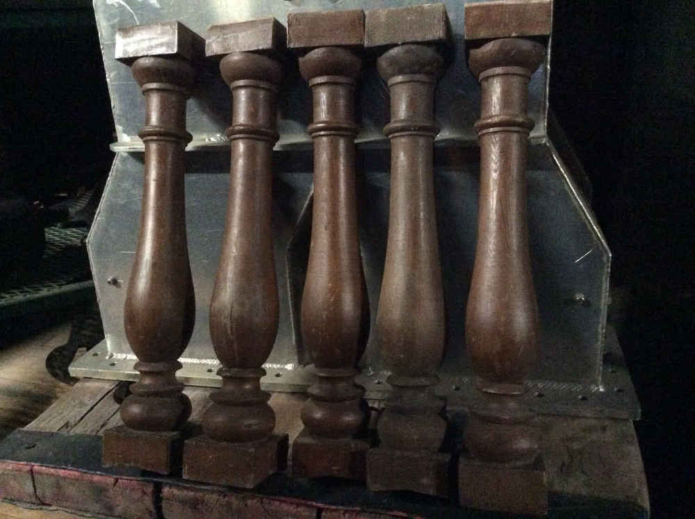Antique Douglas Fir Balusters