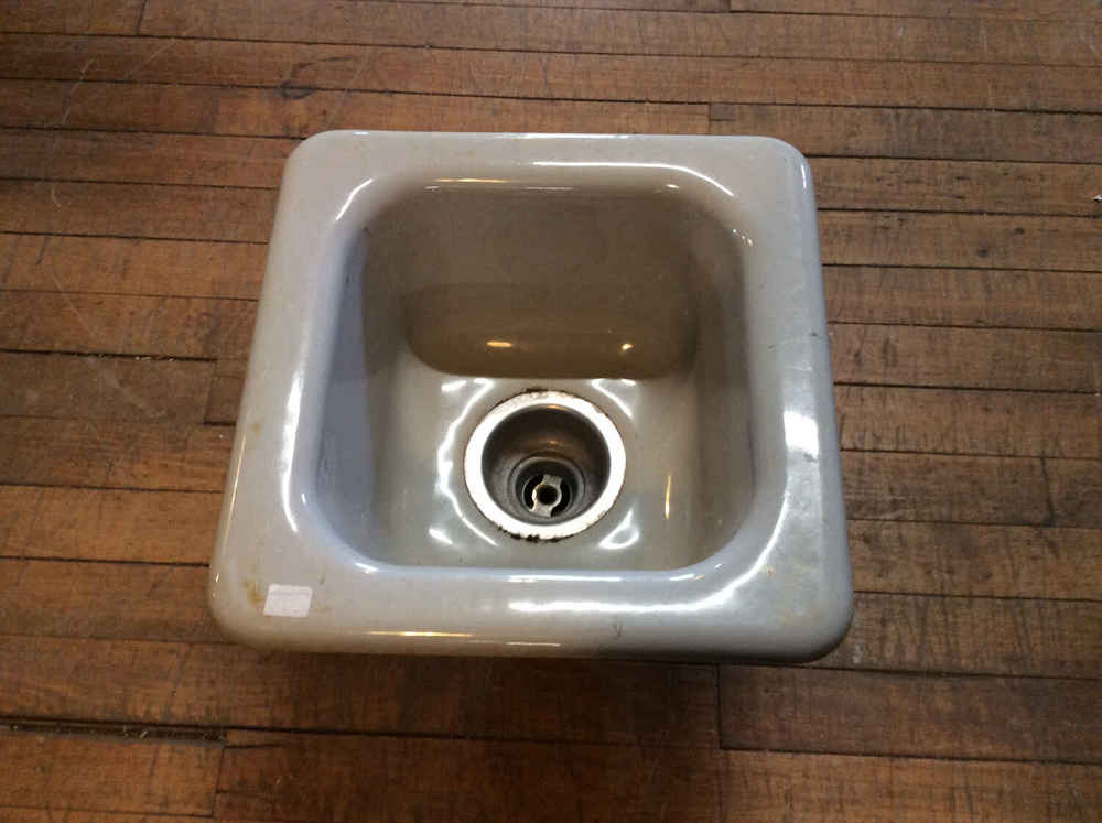 Small Porcelain Over Cast Iron Sink
