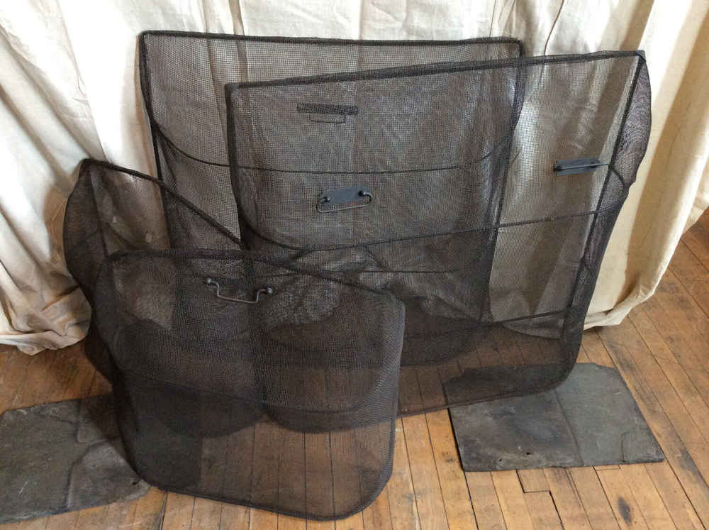 Vintage and Antique Fireplace Screens