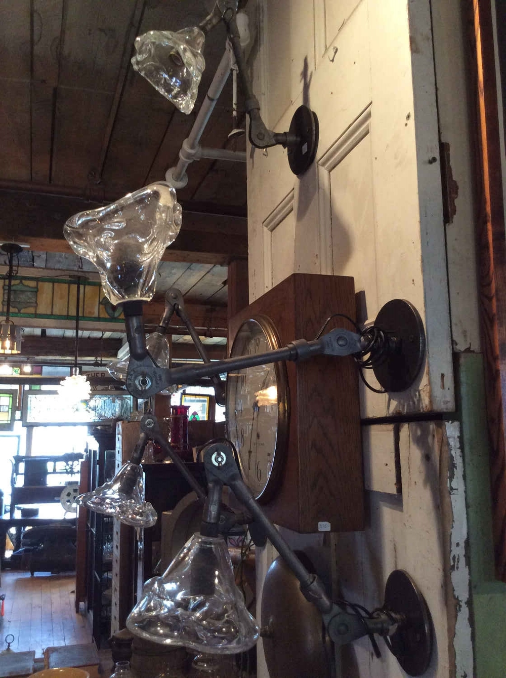 Cleveland Arts Articulated Arm Wall Sconce