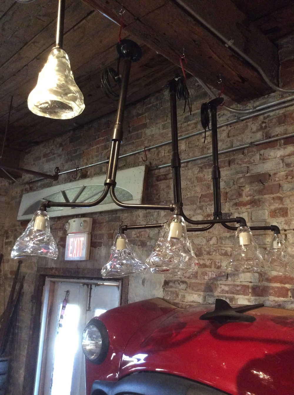 Cleveland Arts Double Drop Pendant Lights