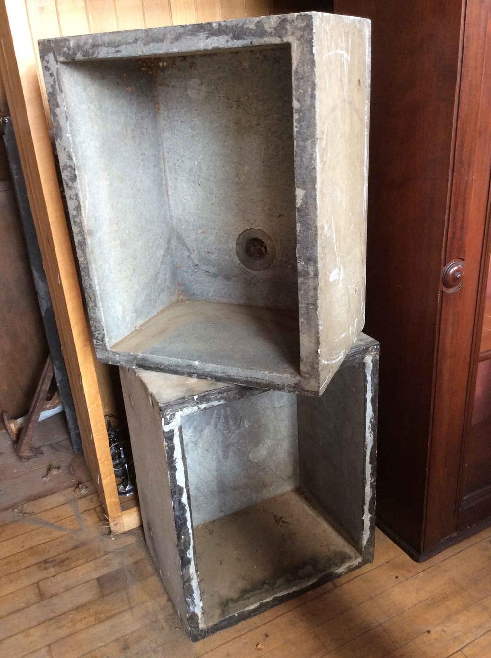 Pr. Antique Soapstone Sinks