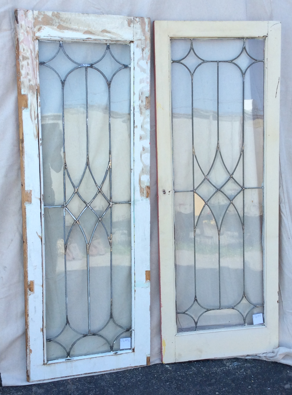 Antique Leaded Glass Windows - All Windows — Portland Architectural Salvage