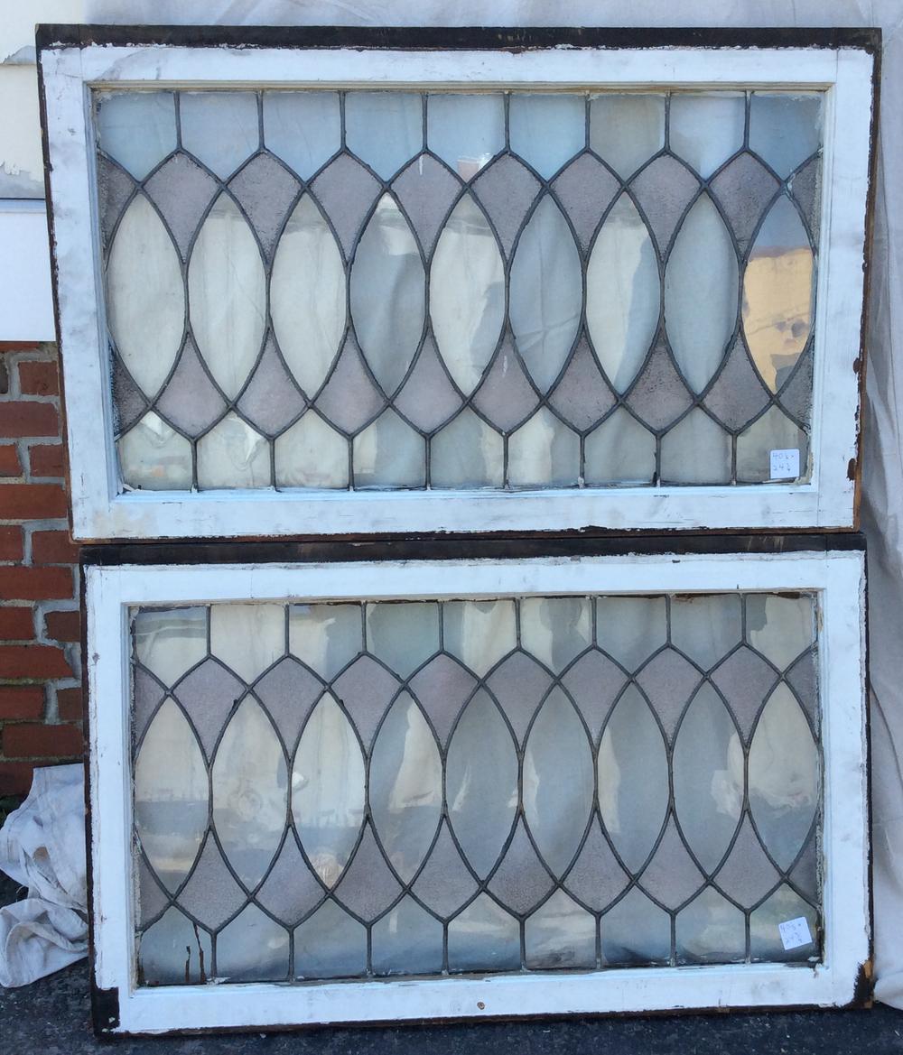 Antique Leaded Glass Windows