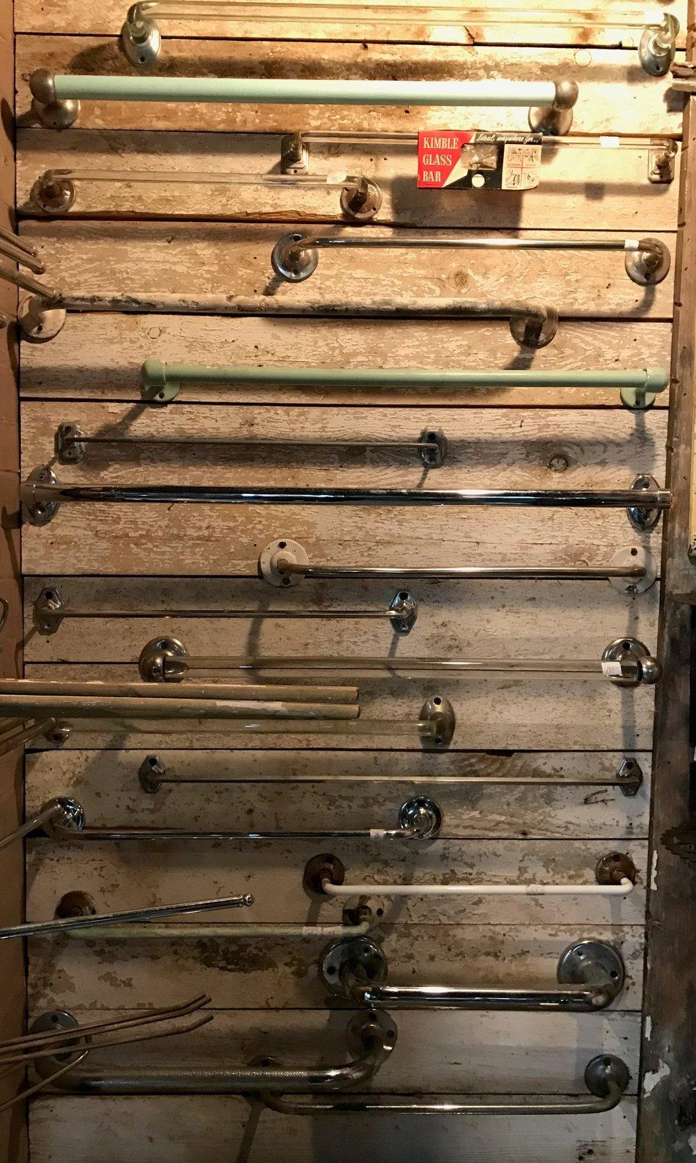 Antique & Vintage Bathroom Towel Bars