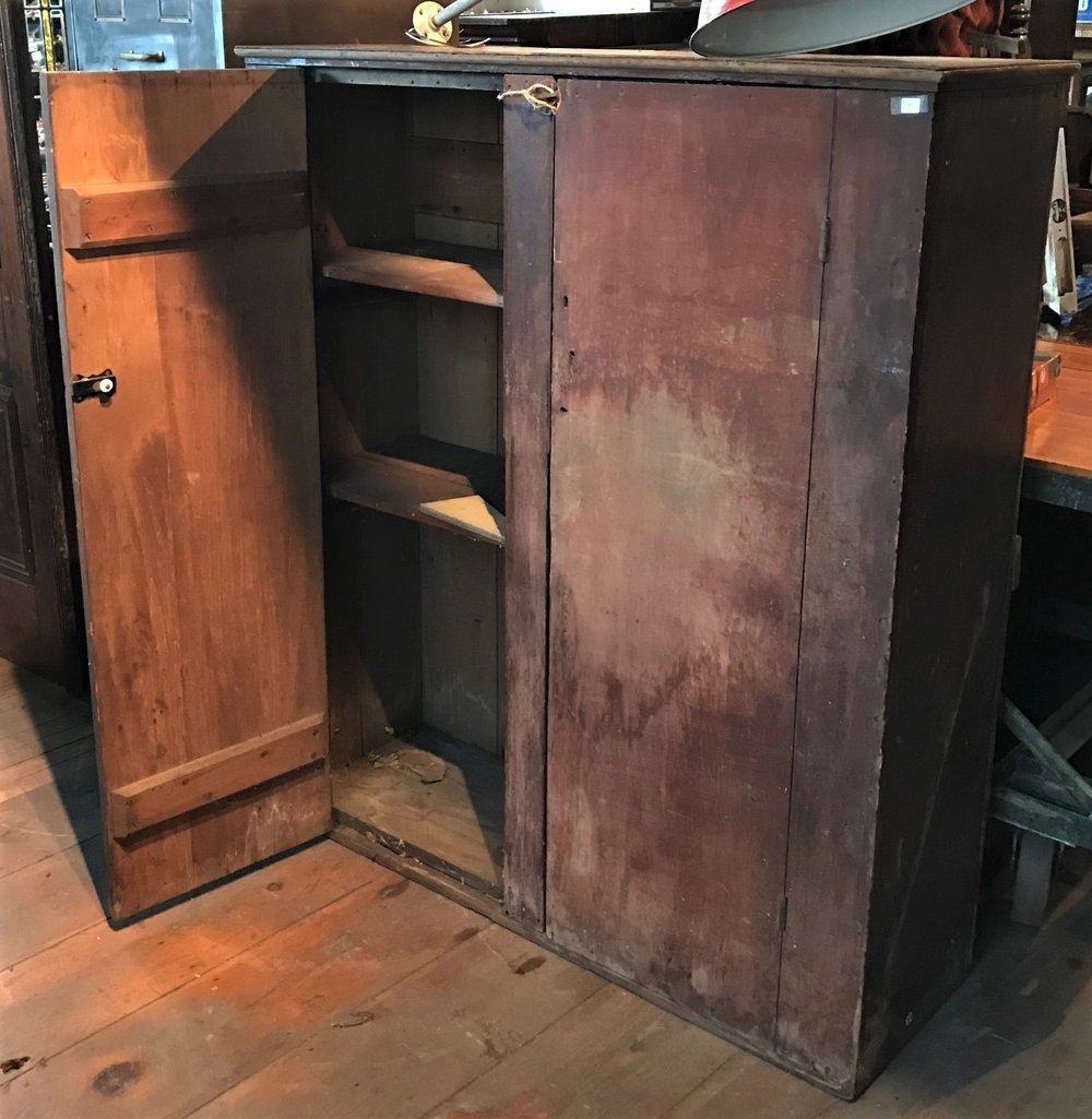 SOLD! Early 2 Door Cupboard
