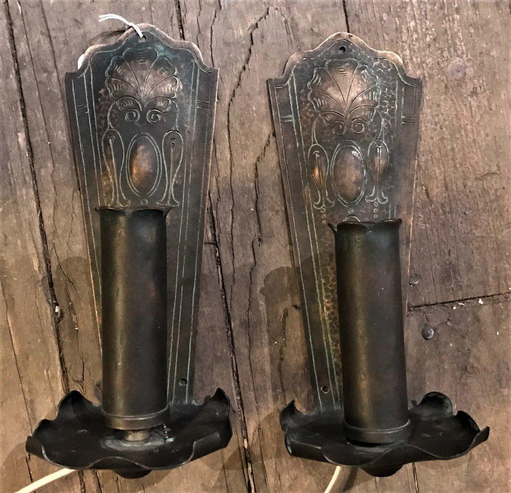 SOLD  Art Nouveau Sconces