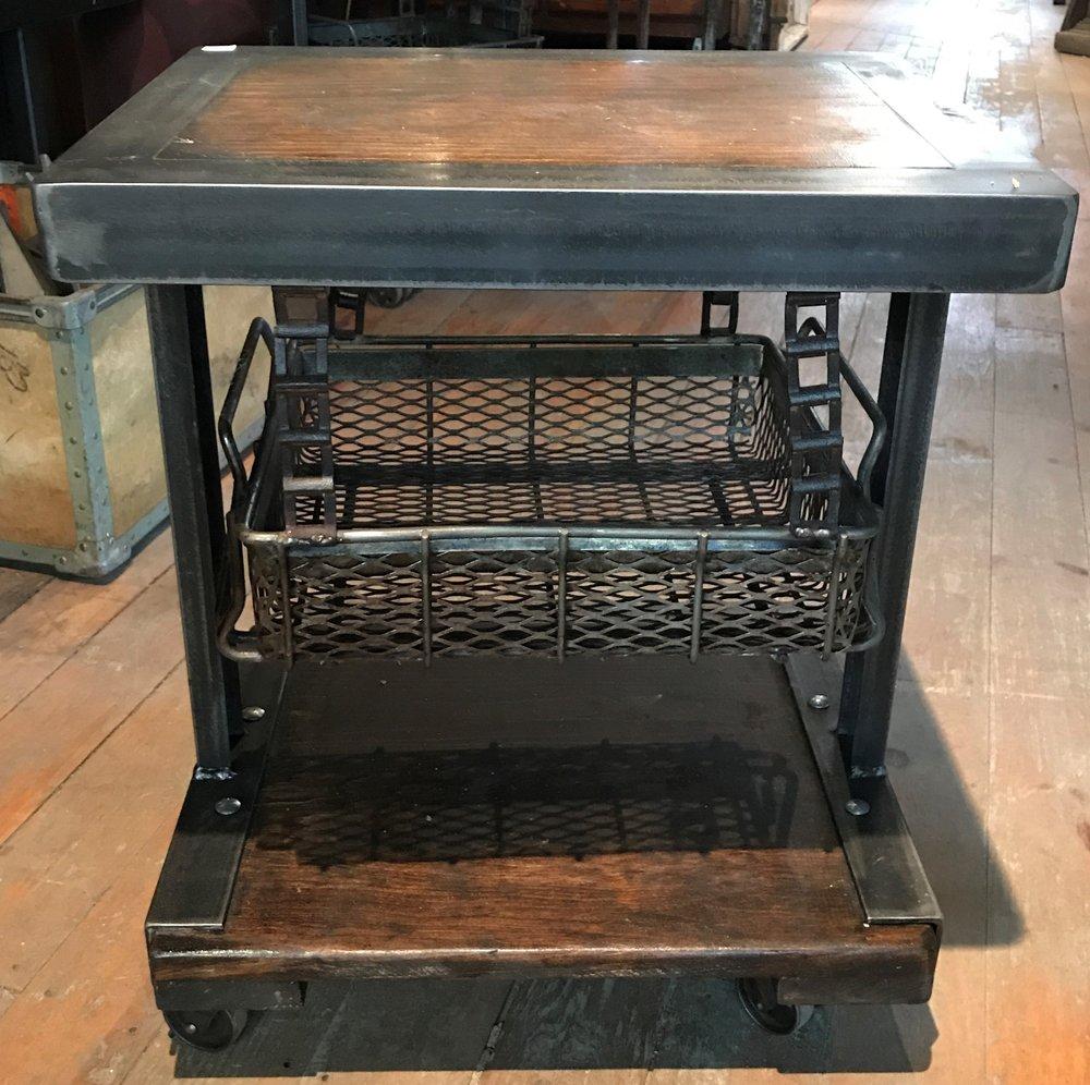 SOLD! Jason Wein \ Cleveland Art Basket Side Tables