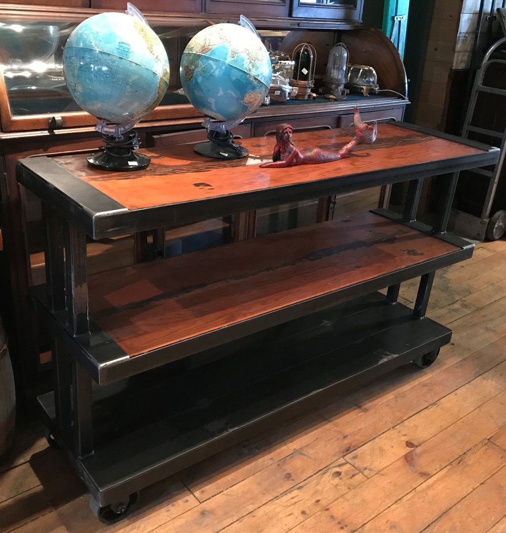SOLD!!  Cleveland Art Console Table