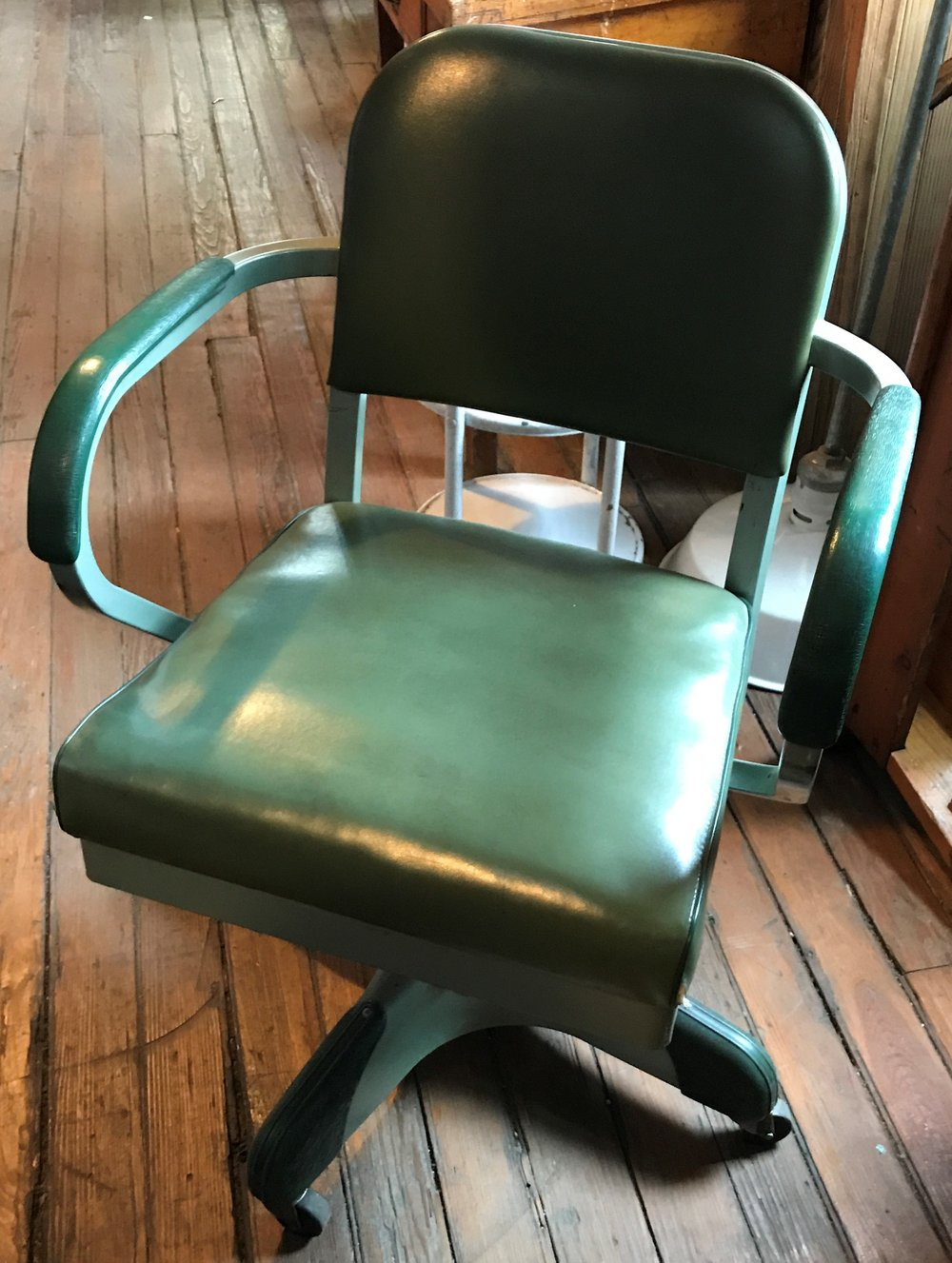 SOLD Mid Century Rolling Harter Office Chair