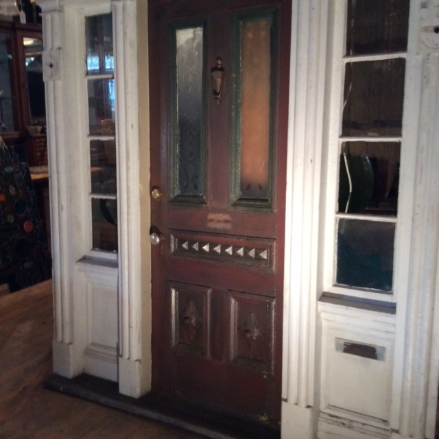 Early to Mid Victorian Entry Door Set