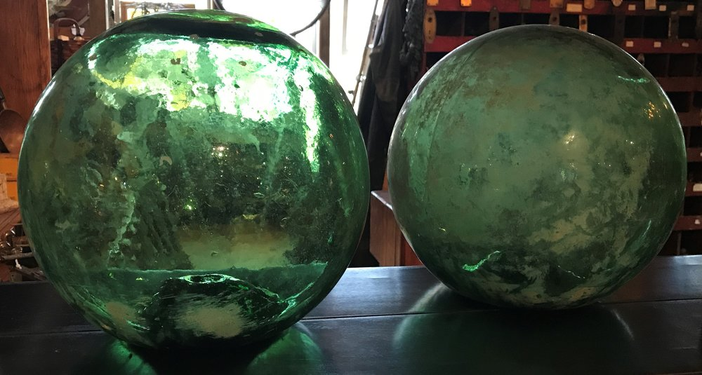 Antique Glass Net Floats