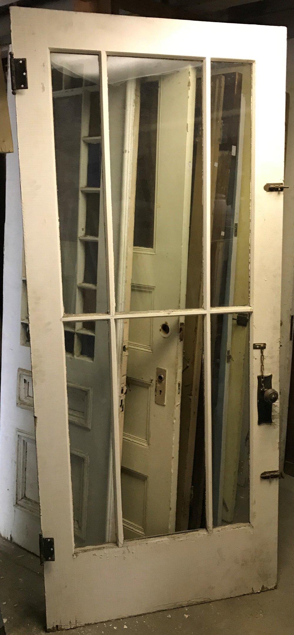 Antique Over Sized Porch Door