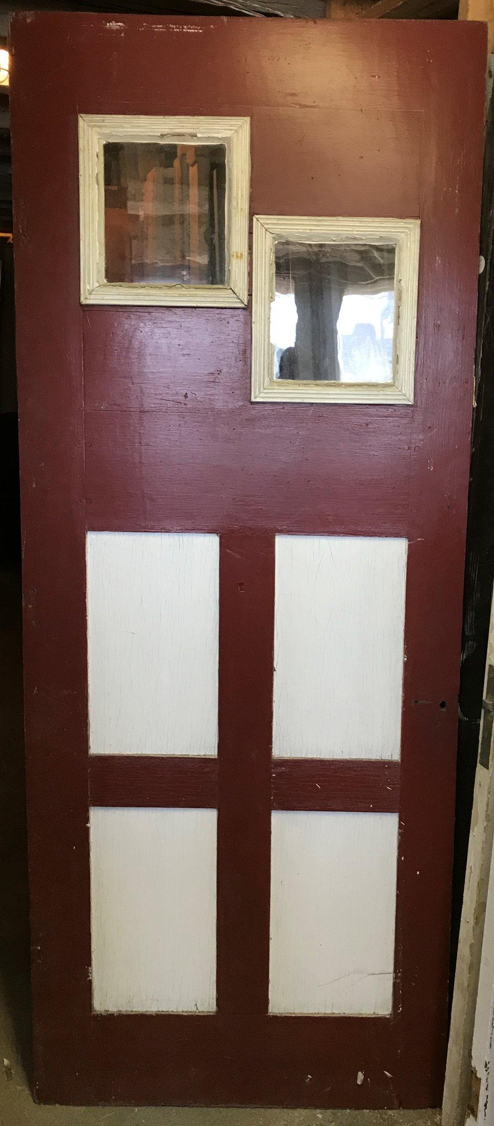 Unusual Folky Door