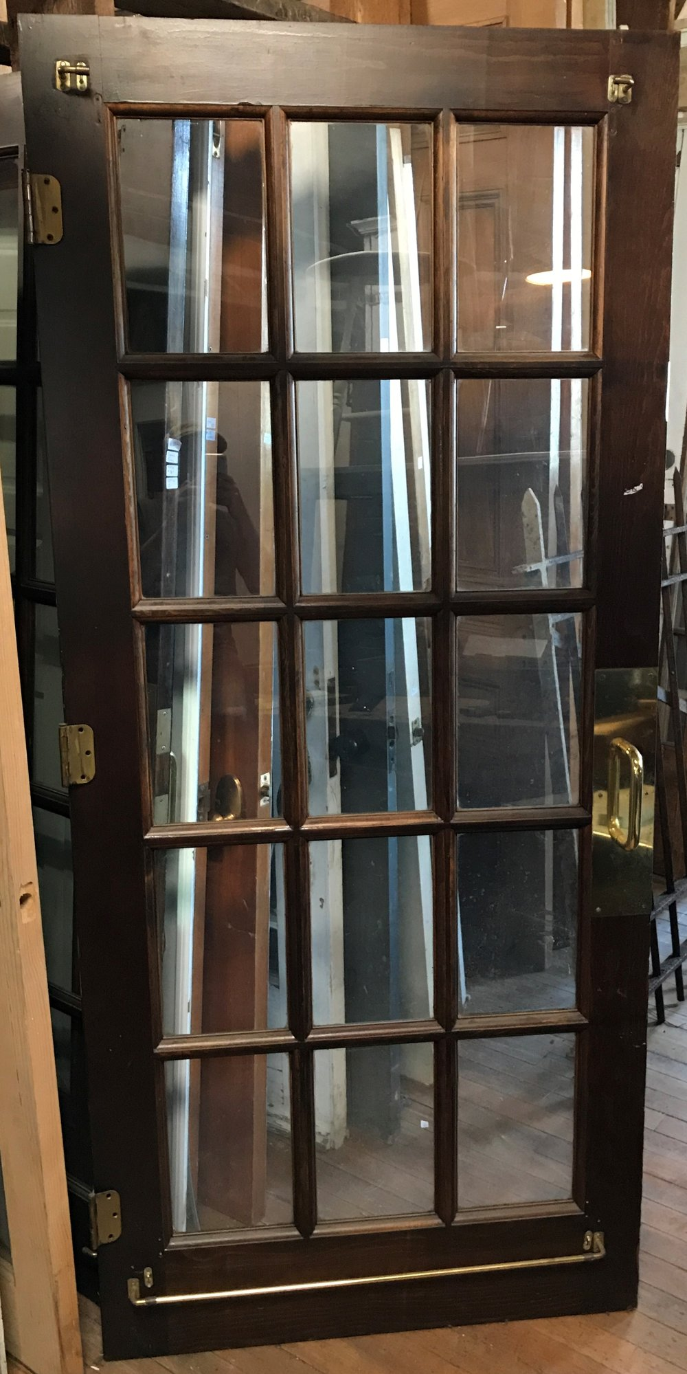 15 Light French Door Pair