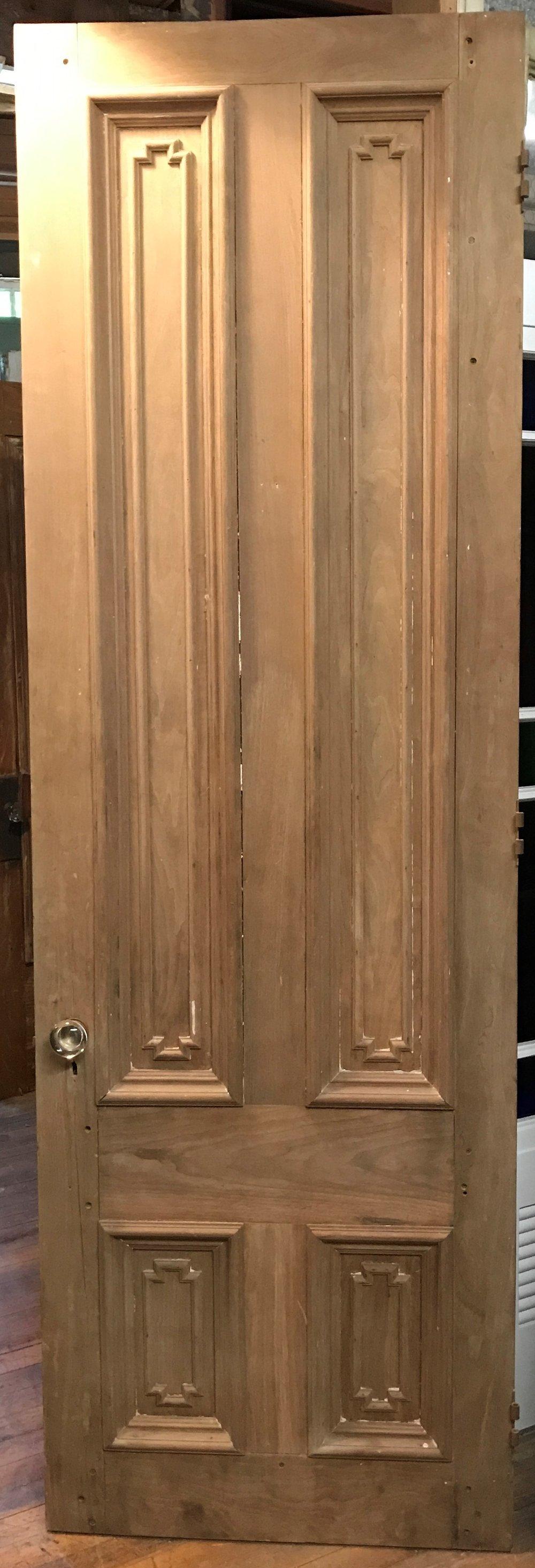 Antique Oversized Paneled Door
