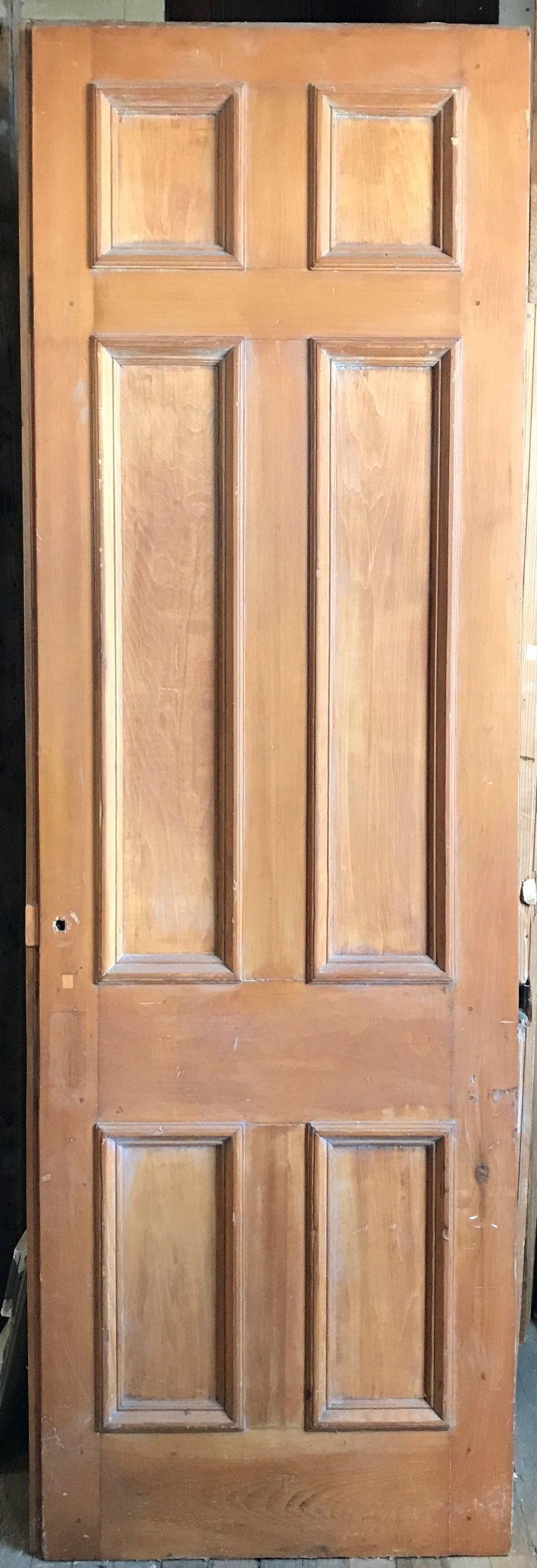 Oversized 6 panel Antique Interior Door