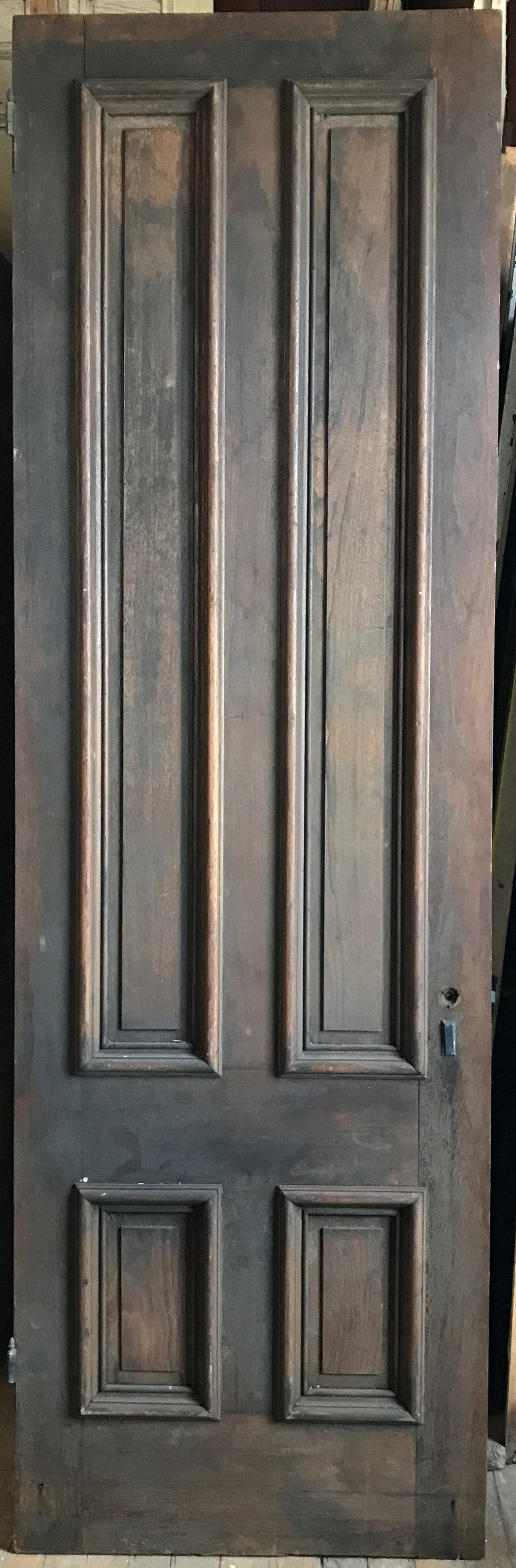 Oversized 4 Panel Antique Interior Door