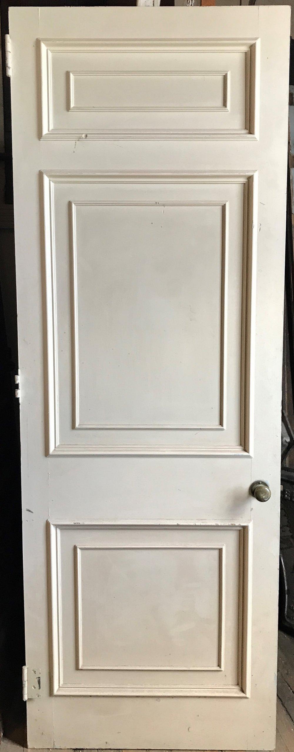 Antique 3 Panel Door