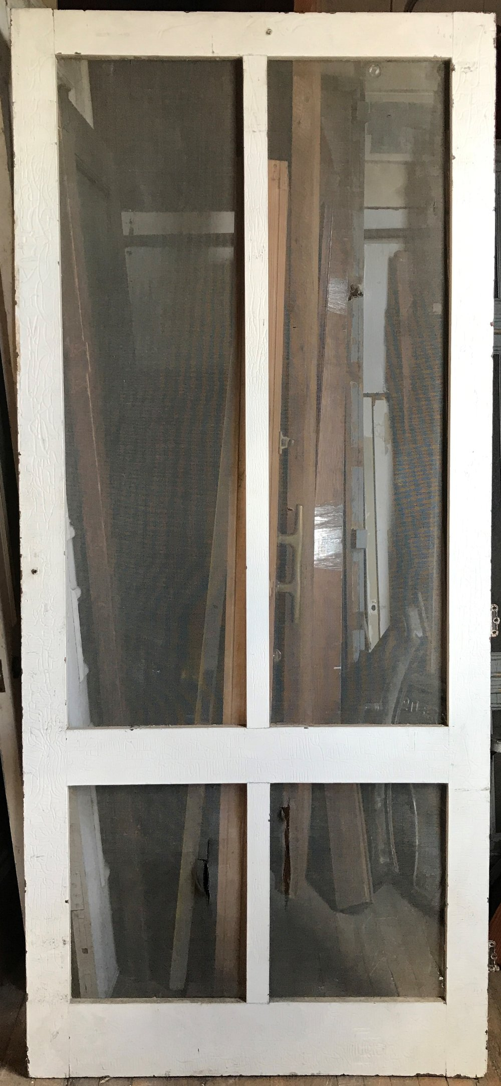 Oversized Screen Door