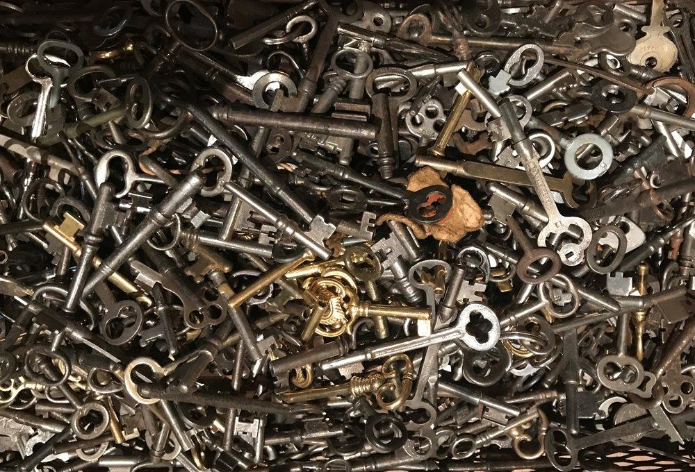 Skeleton & Barrel Keys