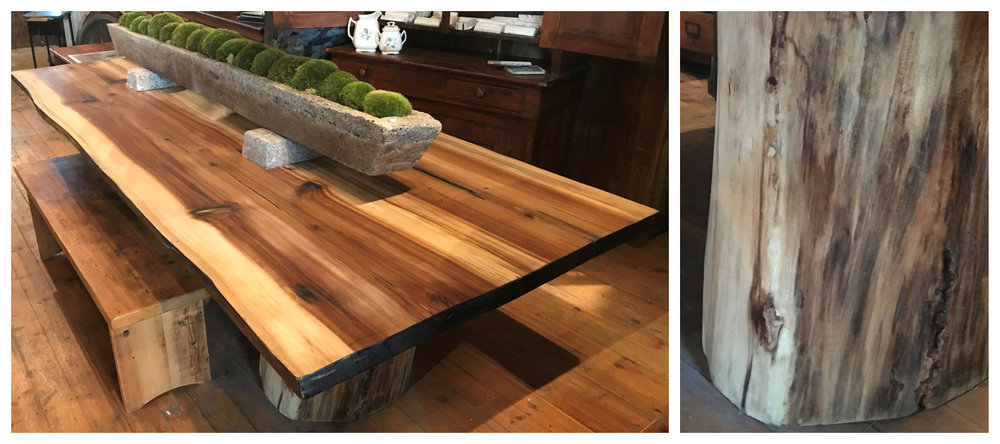 SOLD!  Reclaimed Wood Dining Table