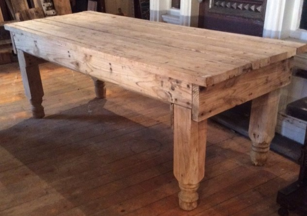 Rustic Reclaimed display table/desk