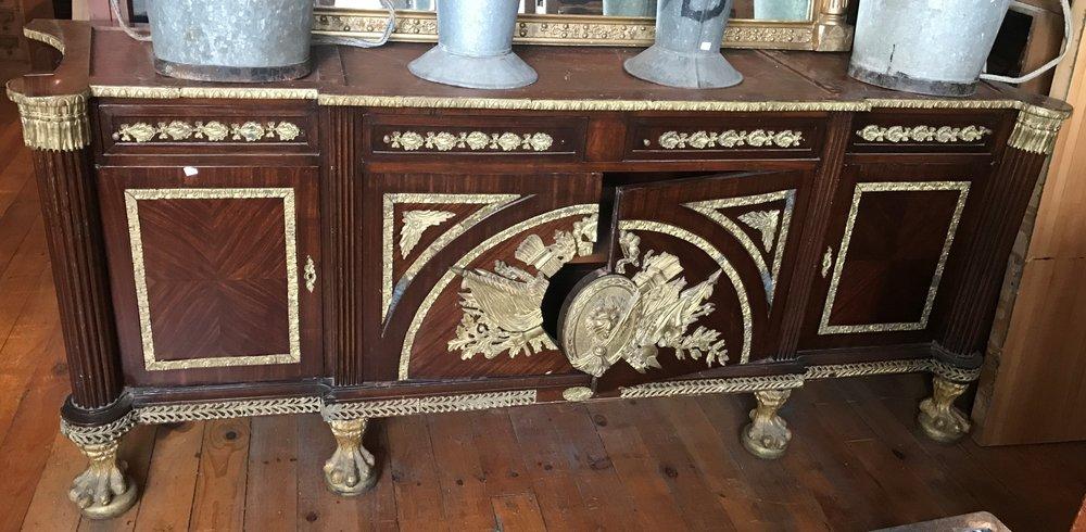 French style Ormolu mounted sideboard