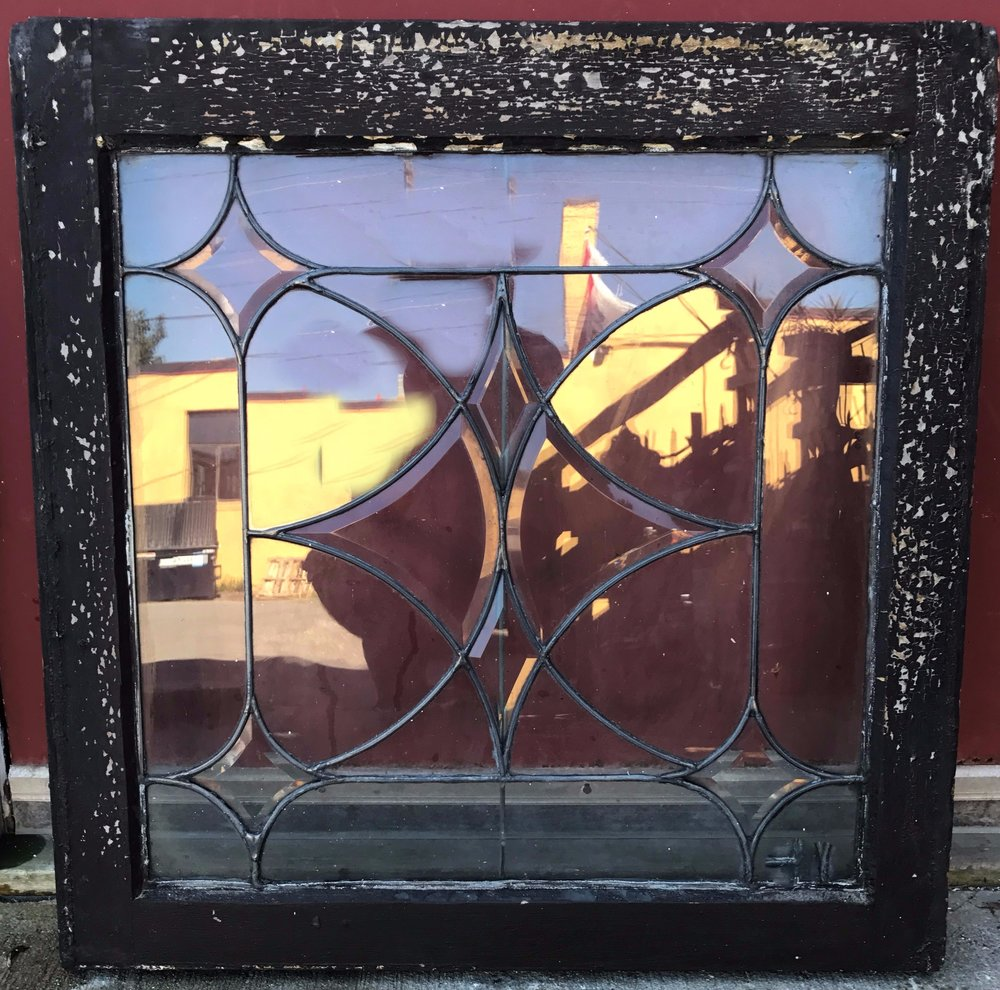 Antique Leaded Glass Window