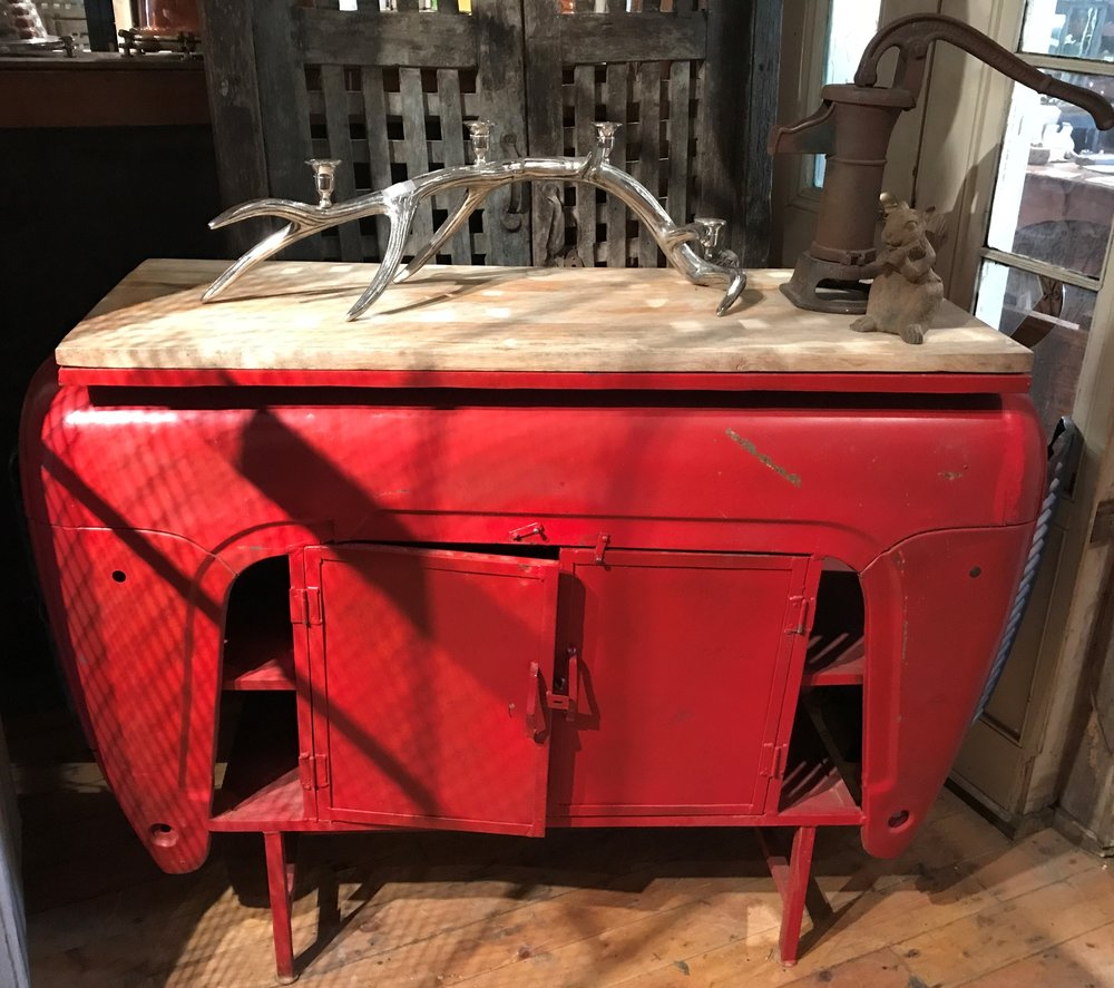 RECLAIMED TRACTOR FRONT BAR