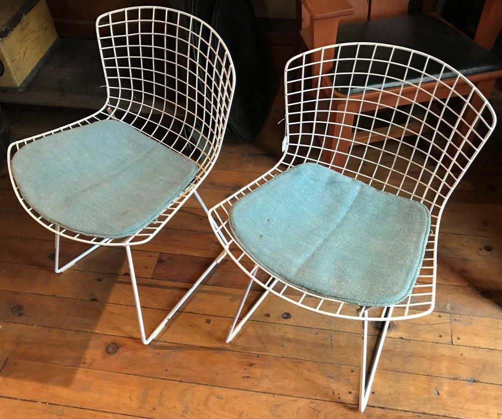 SOLD! Pair of Vintage Side Chairs