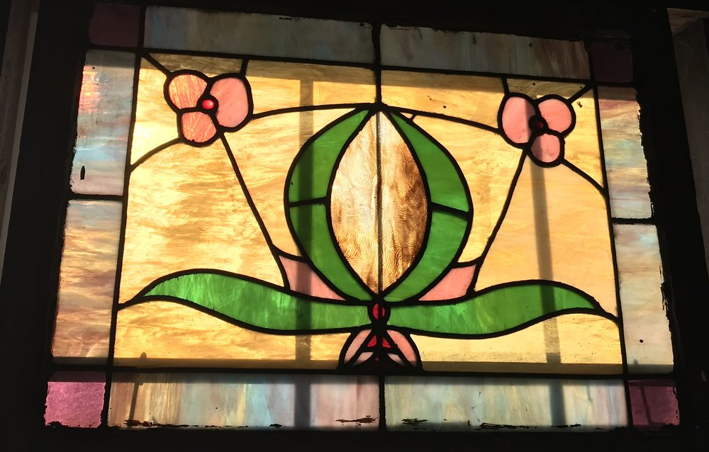 1920's Stained Glass Window