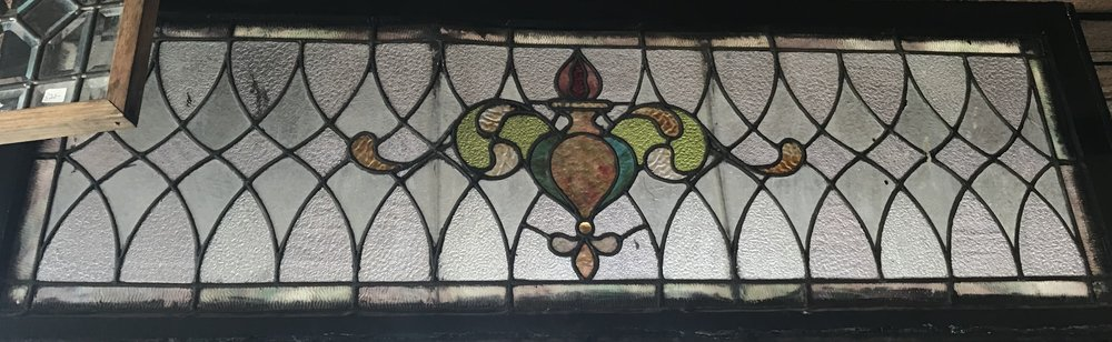 Victorian long Transom window