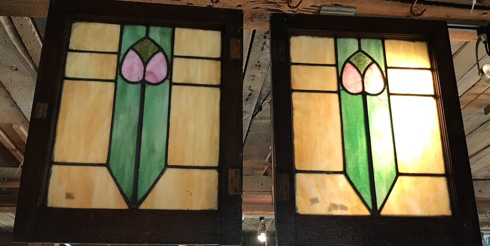 Pair 1930's cottage or bungalow windows