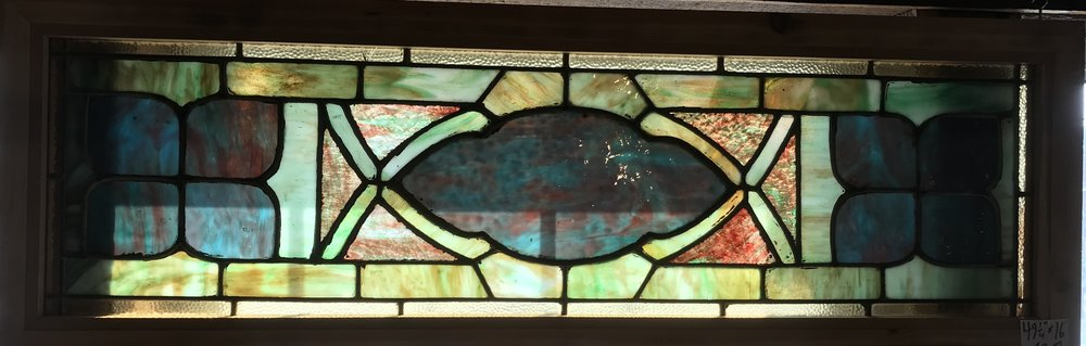 Victorian Transom window
