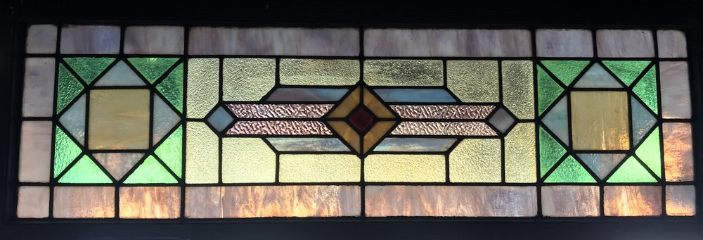 Geometric Transom window