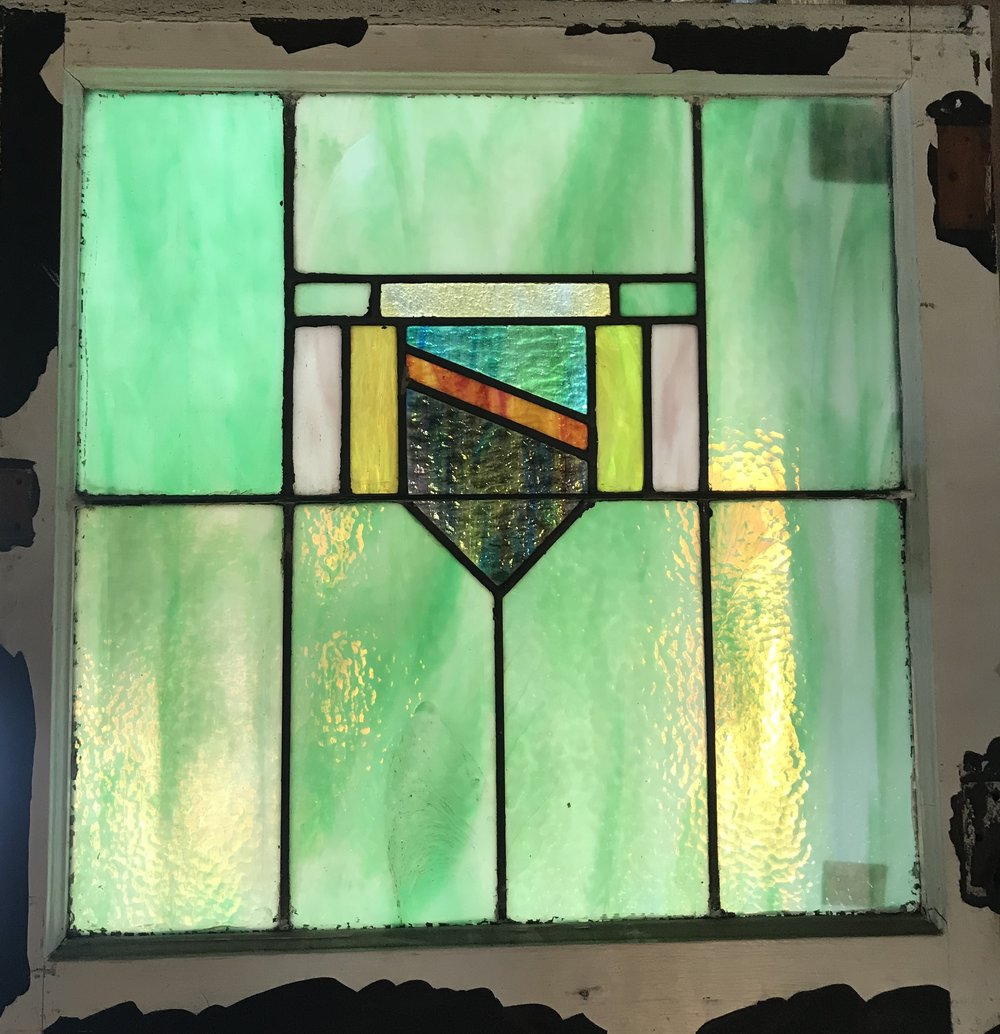 Small Heraldic window