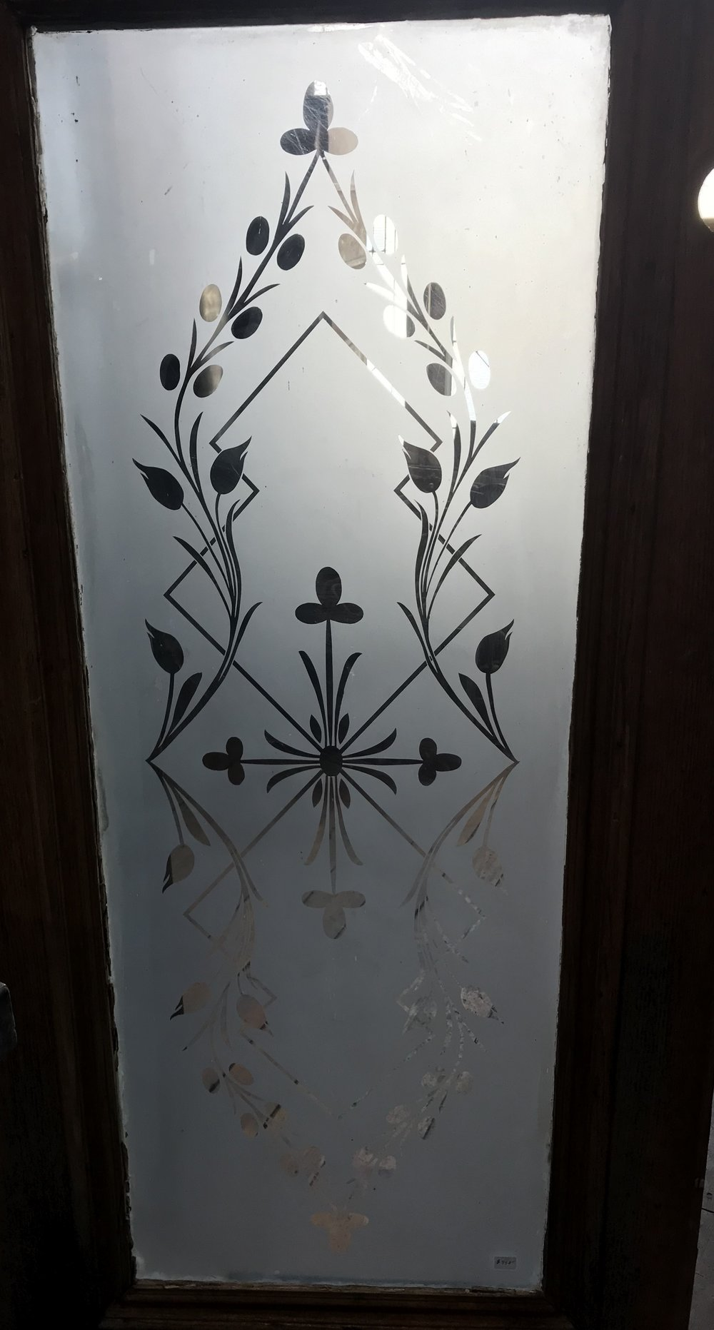 Pair of Acid etched front door panels